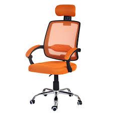 le de bureau orange fauteuil de bureau arendal chaise rotative appui tête tissu