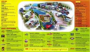 Universal Studios Orlando Interactive Map by Universal Citywalk Guidemaps
