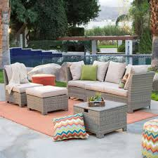 Conversation Sets Patio Furniture by Natural Outdoor Wicker Resin Patio Furniture Conversation Set