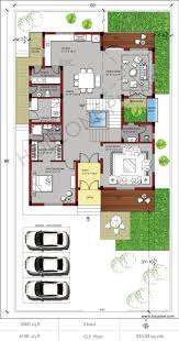 16 x 50 floor plans homes zone vastu home plan for west facing plot x house plans south facing west