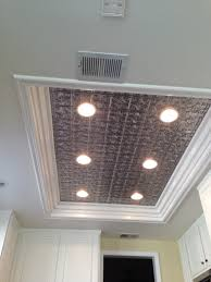Kitchen Ceiling Lighting Design Remodel Flourescent Light Box In Kitchen We Also Replaced The
