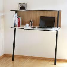 mini bureau ordinateur petit bureau gain de place 25 modèles pour votre ordinateur joli