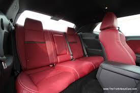 Dodge Challenger Interior - 2013 dodge challenger srt8 interior rear seats picture courtesy