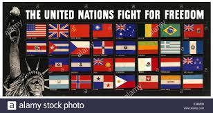 China Flag Ww2 World War Two American Propaganda Poster Us Army 1942 U0027the United