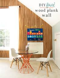World Map On Wood Planks by Diy Faux Wood Plank Wall U2014 Tag U0026 Tibby
