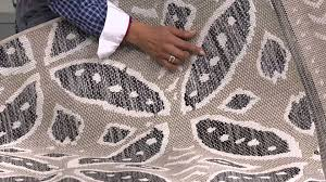 Qvc Outdoor Rugs Ed On Air Medallion Pattern Outdoor Rug By Ellen Degeneres On Qvc