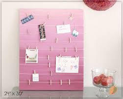 wall art teen girls room bulletin board gift for