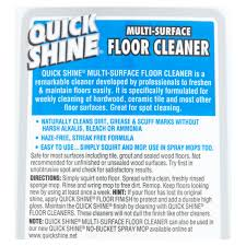 Professional Laminate Floor Cleaners Quick Shine Multi Surface Floor Cleaner Walmart Com
