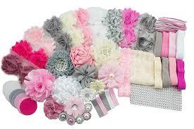 diy baby headbands baby shower headband station diy kit by jlika make