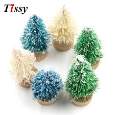 15pcs mini tree small pine tree diy trees placed in the