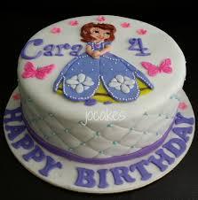 sofia the birthday cake birthday cake girl knocked out