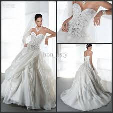 gorgeous wedding dresses stunning wedding gowns organza sweetheart beaded appliques