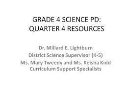 grade 4 science pd quarter 4 resources ppt video online download