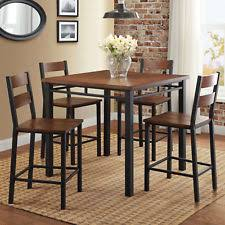 wood and metal dining table sets square dining table ebay