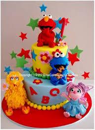 celebrate with cake baby elmo 2 tier cakes pinterest