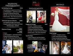 wedding photographer prices custom page