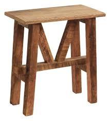 reclaimed wood end table reclaimed barn wood end table rustic side tables and end tables