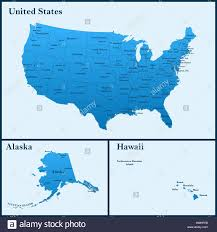 Map Of The Usa With States by The Detailed Map Of The Usa Including Alaska And Hawaii The
