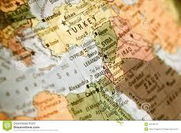 Lebanon World Map by Map Of Israel Turkey Jordan Lebanon Stock Photo Image 49218319