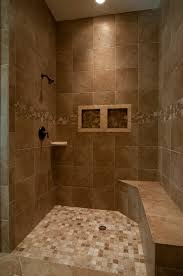 bathroom remodel conversion from tub to shower with privacy wall walk in shower idea is the color and size of time and the position of the tile looking for a couple recessed areas for soap and a partial bench opposite of