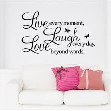 live laugh love wall quote live laugh love
