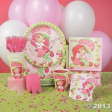 strawberry shortcake party supplies lots of strawberry shortcake birthday party supplies strawberry