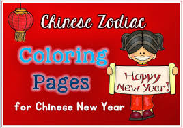 chinese zodiac coloring pages for chinese new year 2014 clever