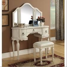Sei Mirrored Vanity Furniture Makeup Vanity Set Walmart Walmart Makeup Table