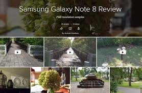 samsung galaxy note 8 review verging on perfection