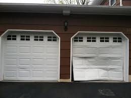 Garage Door Exterior Trim Garage Doors Dented Garage Door Repair Exterior Trim Clopay Dent