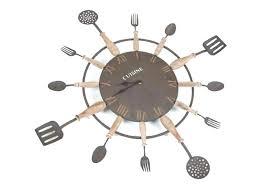 horloge pour cuisine moderne horloge de cuisine murale madeinglobal co