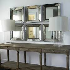 Mirror Sofa Table by Salvaged Wood Sofa Table Design Ideas