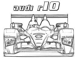 audi r10 coloring page u0026 coloring book