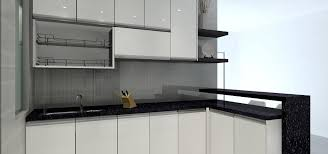 l shaped kitchen cabinet the one kitchen malaysia largest