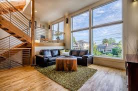 bi level homes interior design contemporary split level house with views of downtown seattle and