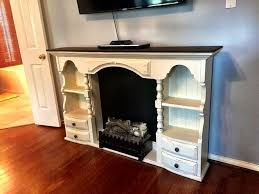 Faux Fireplace Tv Stand - 29 best fireplaces images on pinterest fireplace ideas faux