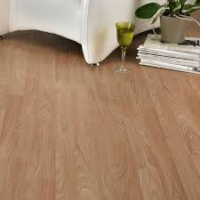Homebase Laminate Flooring Natural Oak Effect 3 Strip Laminate Flooring 3 M Pack