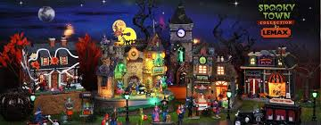 spooky town lemax spooky town collectibles lemax spooky town villages
