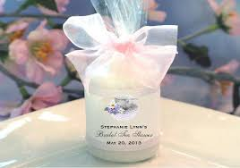 candle favors bridal shower candle votive favors pavia party favors
