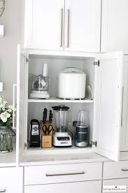 storage ideas for kitchen cupboards best 25 kitchen appliance storage ideas on diy