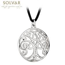 celtic pendant celtic tree of pendant with cord at irishshop