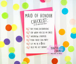 Maid Of Honor Planner Maid Of Honor Checklist Be My Maid Of Honor Checklist