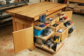 Plans For Making A Wooden Workbench by Aw Extra Dream Workbench Popular Woodworking Magazine