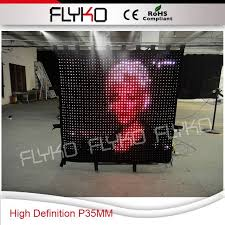 Curtain Led Display Aliexpress Com Buy Free Shipping Open Video