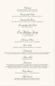 free printable wedding programs templates wedding party
