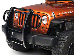 jeep front grill guard 2007 2018 jk jeep wrangler grille guards extremeterrain free