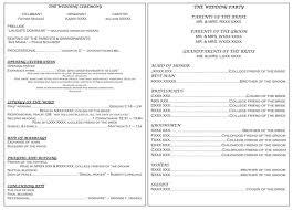 program wedding template unique catholic wedding ceremony without mass image best 20