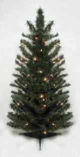 2 u0027 pre lit battery operated mixed pine cashmere christmas tree