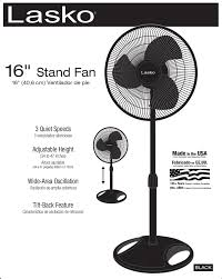 Good Quality Pedestal Fans Lasko 16