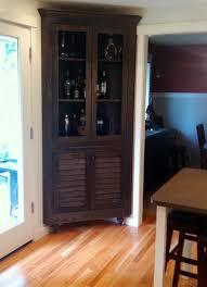 black corner liquor cabinet the stylish corner liquor cabinet